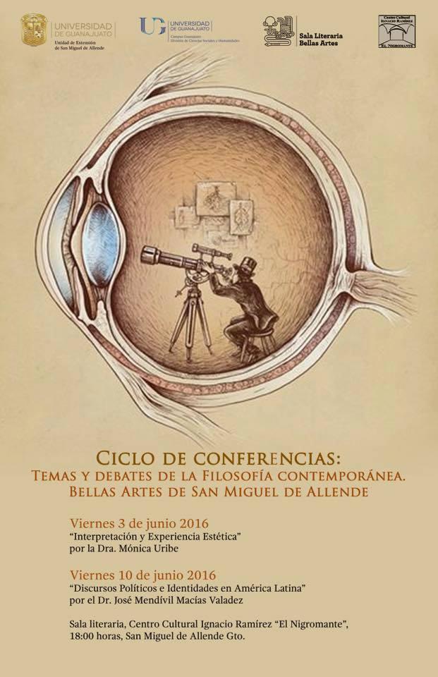 Cartel Conferencias UdeG