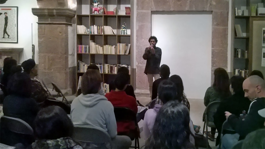 Poetry Slam. Photo by Armida Zepeda.