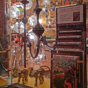 Solamente en San Miguel is available at Artesanías Tapia Ramírez, Hotel Real de Minas