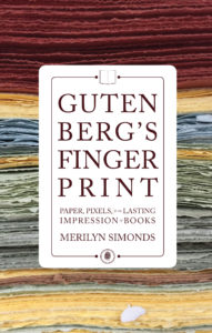 "Merilyn Simonds will be reading ""Gutenberg's Fingerprint"" at the San Miguel Literary Sala"