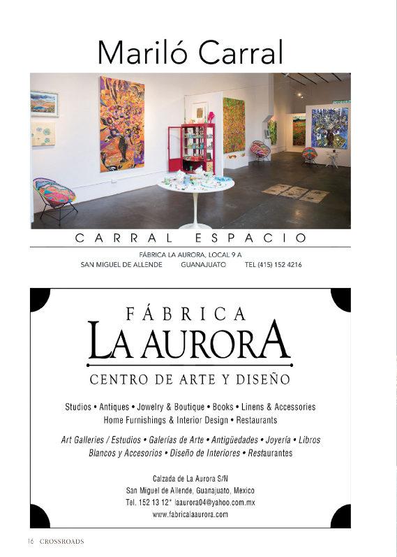 MARILO CARRAL, FABRICA LA AURORA